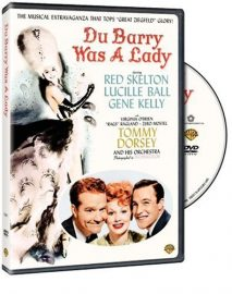DuBarry Was A Lady (1943) starring Red Skelton, Lucille Ball, Gene Kelly, Virginia O'Brien, Rags Ragland, Zero Mostel, Tommy Dorsey
