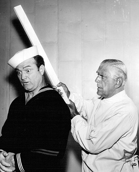 Red Skelton and Boris Karloff