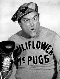 Cauliflower McPugg, Red Skelton's punch drunk boxer who's always hearing the bells and the birds