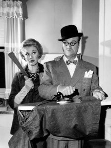 Eve Arden as the wife of the henpecked George Appleby (Red Skelton) on The Red Skelton Show in 1963