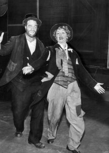 Red Skelton and Lucille Ball in the Lucy-Desi Comedy Hour episode, Lucy Goes to Alaska