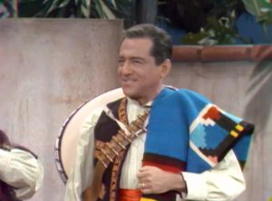 Robert Merrill as Pancho Vanilla in Our Man Fink