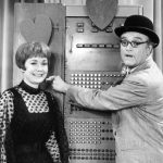 Jane Wyman and George Appleby on The Red Skelton Show, 1968