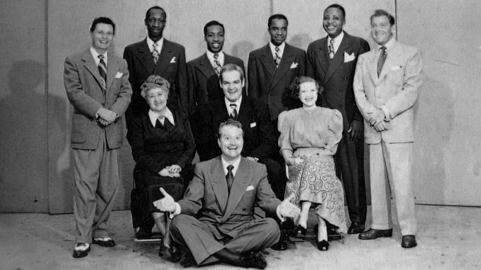 Red Skelton with the cast of Avalon Time