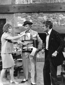 Laara Lacey, Clem Kadiddlehopper, Gene Barry from The Red Skelton Show, 1970