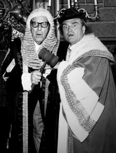 Stanley Holloway and Clem Kadiddlehopper in Goofy Goofy Gander