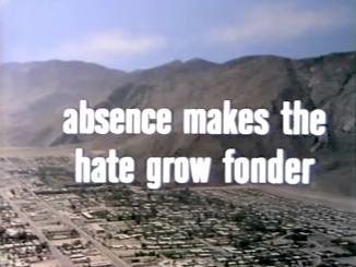 Absence Makes the Hate Grow Fonder - with Eve Arden- The Red Skelton Hour, season 16, originally aired January 24, 1967