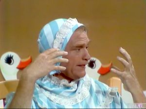 """Red Skelton as a baby in """"The Seven Ages of Man"""""""