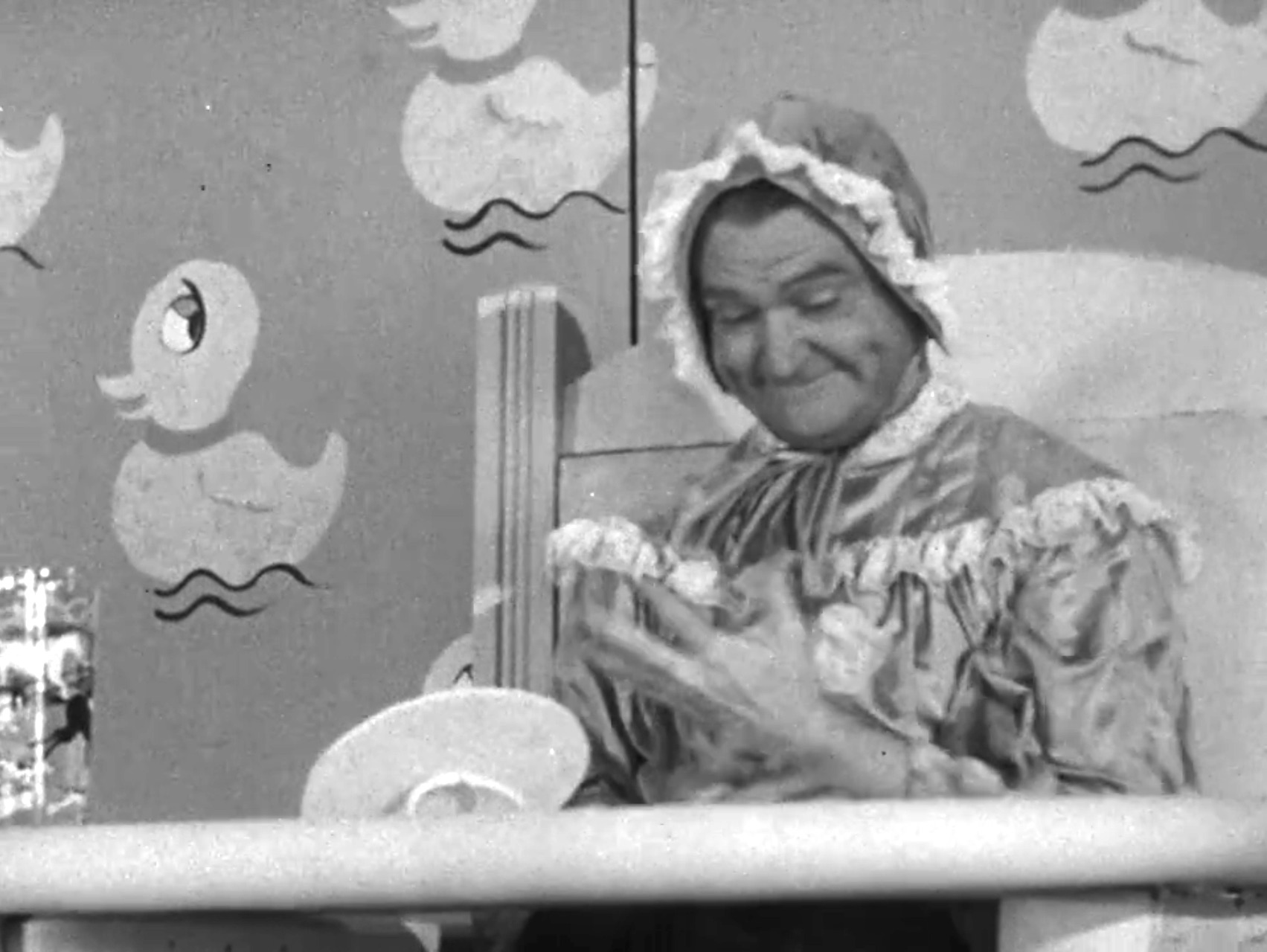 Baby's First Birthdaay - Red Skelton as a baby experiencing his first birthday