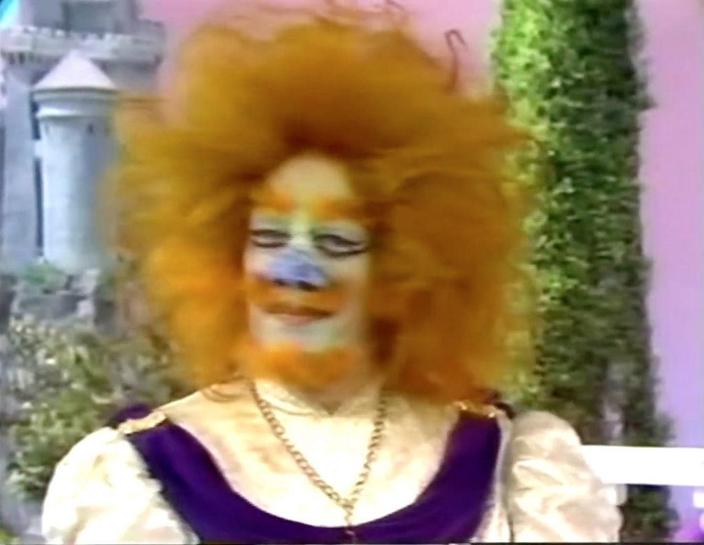 """Cyril Ritchard as The Beast in """"Fairy Tales for Old Children"""""""