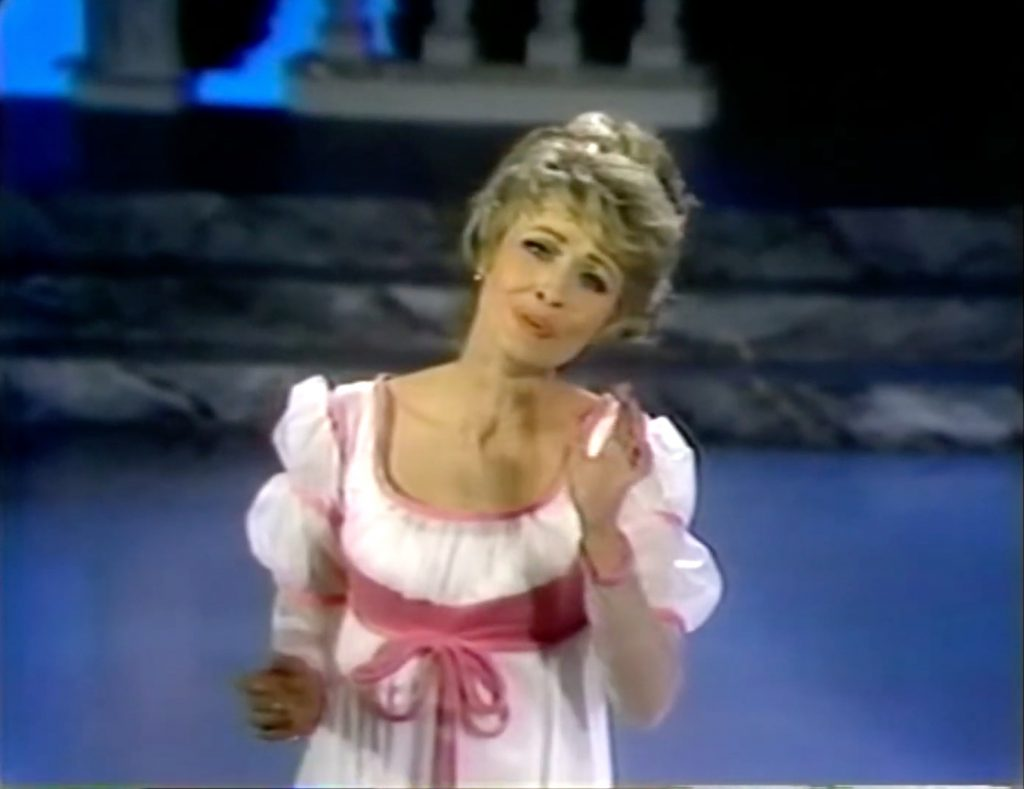 """Jane Powell as Beauty in """"Fairy Tales for Old Children"""""""