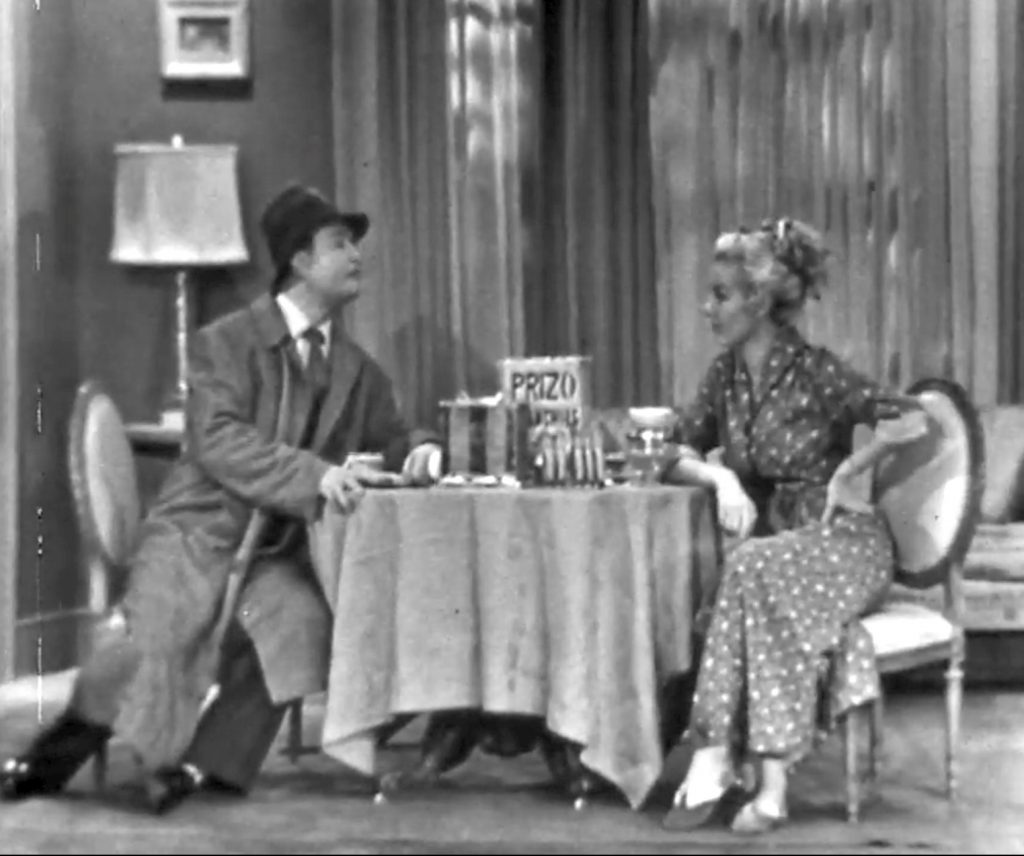 Married life as it really is - Willie LumpLump and his suffering wife Lucille Knoch at the breakfast table. What's the secret ingredient to the coffee?