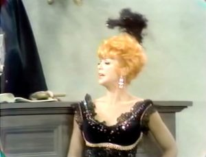 """Bubbles Laverne (Chanin Hale) in the courtroom in """"The Seven Ages of Man"""""""