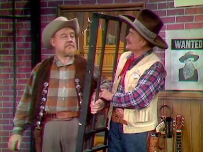 Burl Ives and Deadeye in Sheriffs Are Bought Not Made