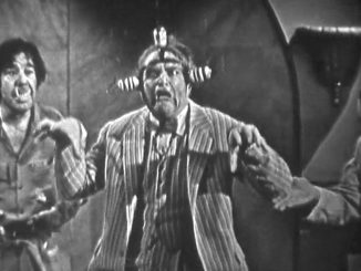 Clem Kadiddlehopper as a science experiment! in Dial 'B' for Brush -- a Halloween episode of The Red Skelton Show