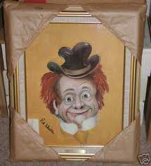 Red Skelton's painting of Clem