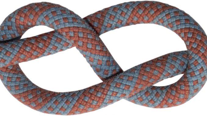 Clem Kadiddlehopper ties knots - A joke from Red Skelton's country bumpkin character, Clem Kadiddlehopper