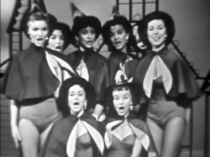 Dancing witches on The Red Skelton Show - Halloween Show