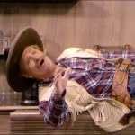 """Sheriff Deadeye fakes dying - badly - in """"The Fastest Cuspidor in the West"""""""