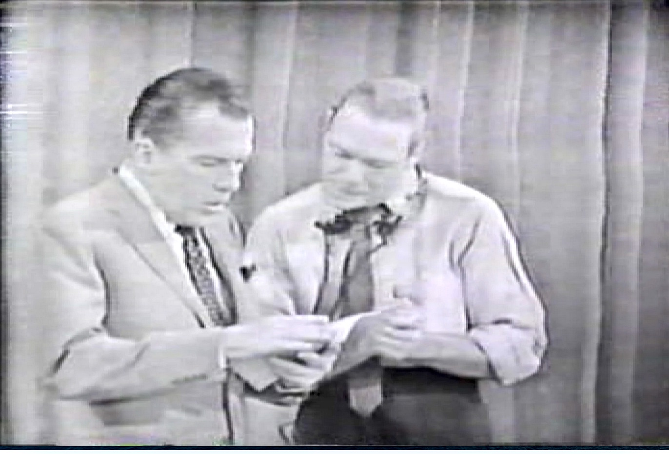 Ed Sullivan as Red - filling in while Red recovers from back surgery