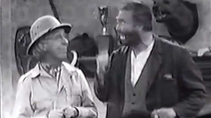 Ed Wynn and Freddie the Freeloader in Half a Loafer is Better than None - The Red Skelton Hour season 15