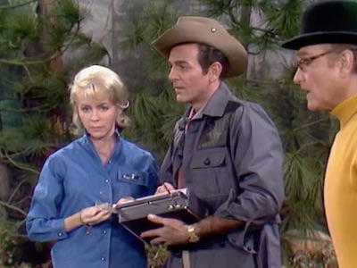 Emmaline Henry, Mike Connors, George Appleby in Life, Liberty and the Pursuit of George Appleby