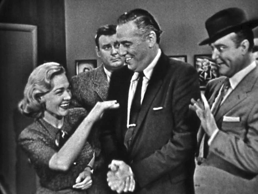 """Studio executives try to butter up Red Skelton - """"What a network!"""""""