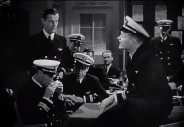 Flight Command - Red Skelton joking with the other Hellcats