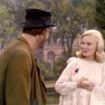 "Freddie the Freeloader meets the Guardian Angel of Hobos (Carol Byron) in ""Never on a Bum-Day"""