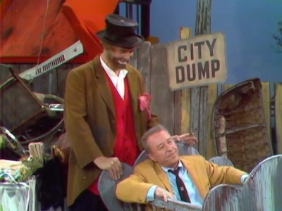 He Who Steals My Dump Steals Trash, with Freddie the Freeloader and George Gobel