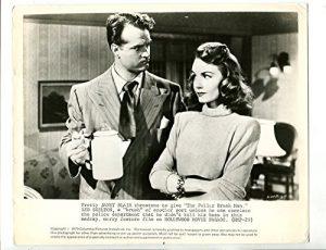 "Red Skelton and Janet Blair in ""The Fuller Brush Man """