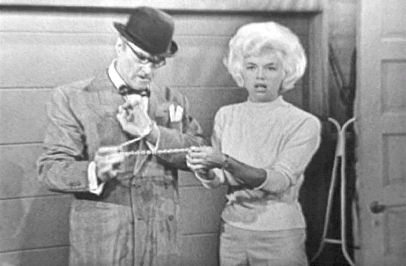 George Appleby's Neighbor - Diana Dors.  I'm sure Clara won't be jealous at all …