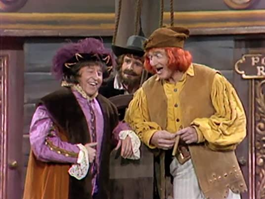 George Gobel as Columbus, Red Skelton as Forsooth, in Yo Ho Ho and a Bottle of Dumb