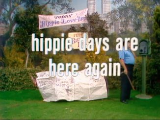 Hippie Days are Here Again title