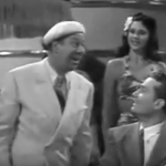Bert Lahr and Red Skelton in the I'll Take Tallulah number in Ship Ahoy