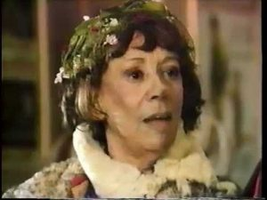 Imogene Coca as the bag lady in Red Skelton's Christmas Dinner