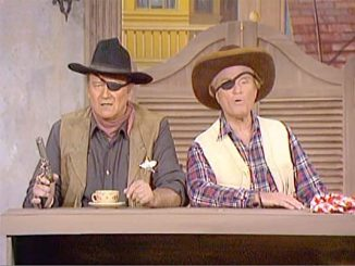 John Wayne and Red Skelton in Hominy and True Grits - The Red Skelton Hour season 19