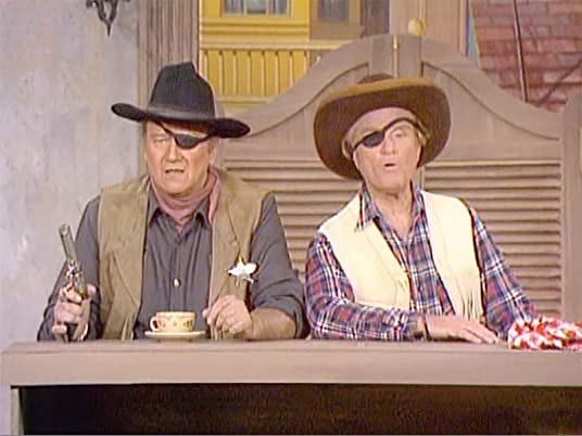 John Wayne and Red Skelton in Hominy and True Grits