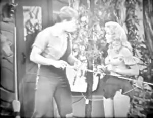 """Li'l Abner and Daisy Mae in """"Clem in Dogpatch"""""""