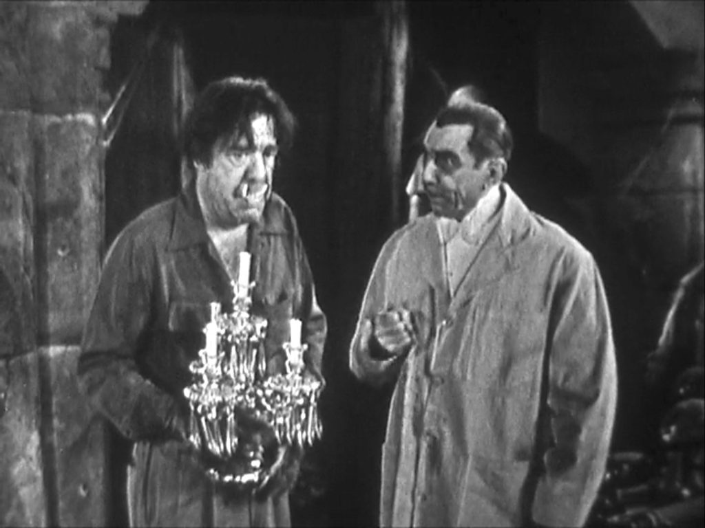 Brothers Lon Chaney Jr. (George) and Bela Lugosi