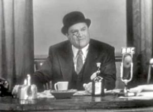 """Red Skelton as BBC broadcaster Lord Beaverhead in """"How to Make a Salad"""""""
