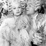 Lucille Ball as Madame Du Barry, Red Skelton as King Louis, in Red's extended dream sequence