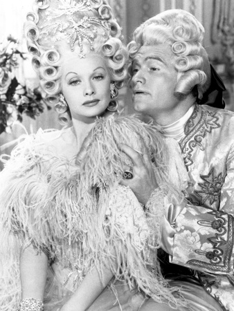 Lucille Ball and Red Skelton in a dream sequence in Du Barry Was a Lady