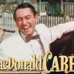 MacDonald Carey as the romantic rivaal in Excuse My Dust