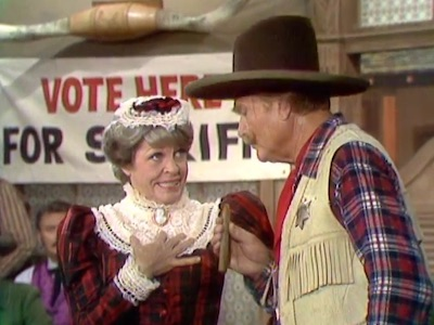 The Revenge of Prudence Pennyfeather or Wide Saddles in the Old Corral, with Martha Raye and Deadeye