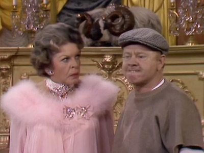 Martha Raye and Mickey Rooney in Parlor, Bedroom & Wrath