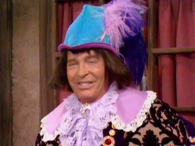 "Milton Berle as No-Good in ""When Nuthood was in Flower"""