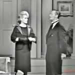 """Mrs. Cavendish (Janis Paige) and butler (Gilchrist Stuart) in """"Ten Baby Fingers and Twelve Baby Toes"""""""