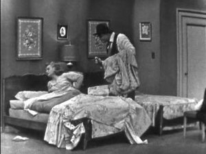 Willie Lump Lump's wife turns over as he tries to wake her