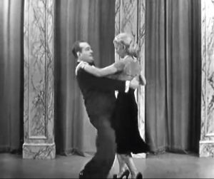 """Red Skelton and Lucille Knoch demonstrate """"My First Dance"""" in Learn to Dance in Ten Easy Lessons or One Hard One"""